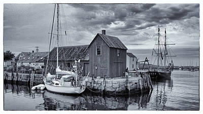 Rockport Harbor Lobster Shack Art Print