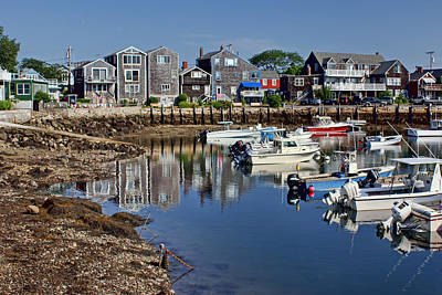 Photograph - Rockport Harbor by Nikolyn McDonald