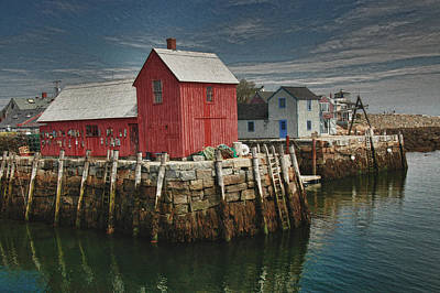 Photograph - Rockport Harbor by Paul Miller
