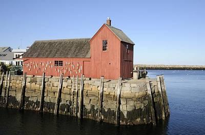 Photograph - Rockport Lobster Dock by Bradford Martin