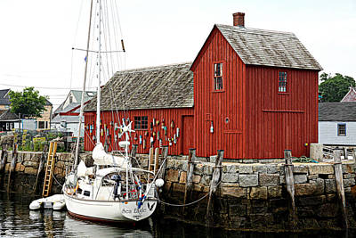 Rockport - Motif Number 1 Art Print by Stephen Stookey