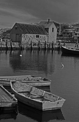 Rockport No.  2 Art Print by Mike Martin