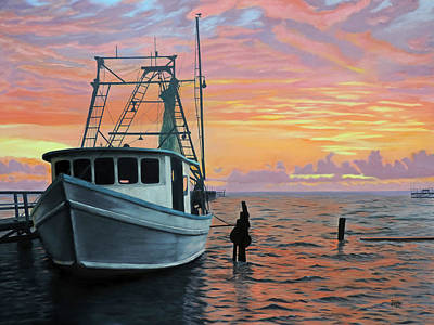 Painting - Rockport Sunrise by Jimmie Bartlett