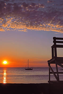 Summer Photograph - Rockport Sunset by Joann Vitali