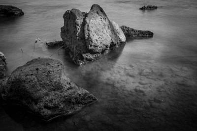 Photograph - Rocks And Mist by Nathan Hillis