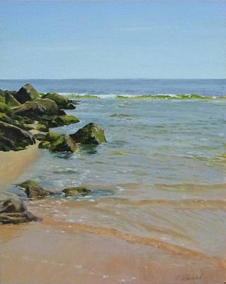 Rocks And Shallows Art Print
