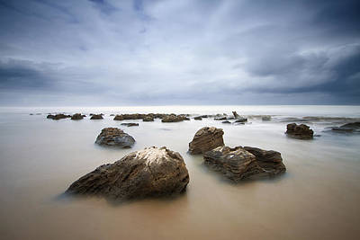 Photograph - Rocks And Tides by Des Jacobs