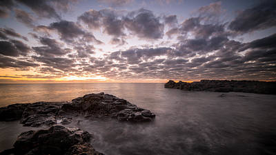 Photograph - Rocks And Water 9 by Brad Grove