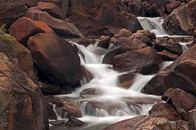 Photograph - Rocks And Water by Eric Rundle