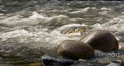 Photograph - Rocks And Water by Inge Riis McDonald