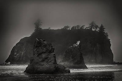 Photograph - Rocks At Ruby Beach by Robert Woodward