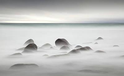 Norway Wall Art - Photograph - Rocks At Uttakleiv Beach by Robbert Mulder