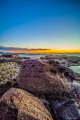 Rocks By The Sea 2 Art Print by Dasmin Niriella