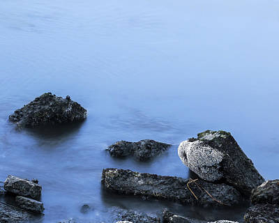 Waterscape Photograph - Rocks Come To Life By Denise Dube by Denise Dube