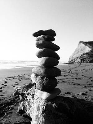 Photograph - Rocks In Balance by Lorraine Devon Wilke