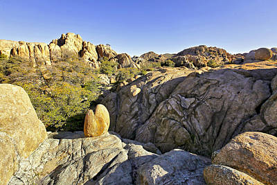 Photograph - Rocks In Prescott Arizona by James Steele