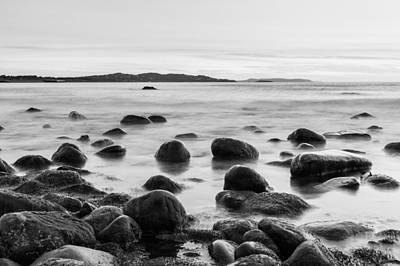 Photograph - Rocks In The Irish Sea by Semmick Photo