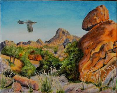 James Taylor Painting - Rocks Of The West by James Taylor
