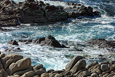 Rocks Off Shore Cabo San Lucas Art Print by Linda Phelps