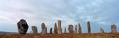 Megalith Photograph - Rocks On A Landscape, Callanish by Panoramic Images