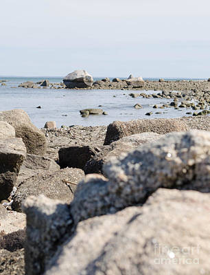 Photograph - Rocks On The Beach by Andrea Anderegg