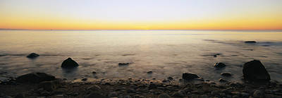 Block Island Photograph - Rocks On The Beach, Block Island, Rhode by Panoramic Images