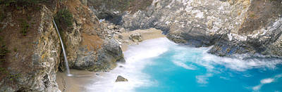 Rocks On The Beach, Mcway Falls, Julia Art Print by Panoramic Images