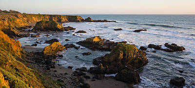 Rocks On The Coast, Cambria, San Luis Art Print
