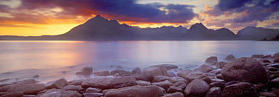 Elgol Photograph - Rocks On The Coast, Elgol, Loch by Panoramic Images