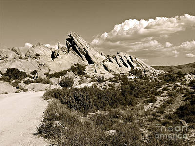 Rocks On Warm Wind Art Print