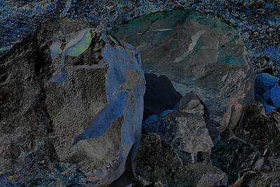 Photograph - Rocks Relocated. Mount St Helens 2012  by Connie Fox