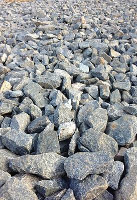Rocks Print by Roque Rodriguez