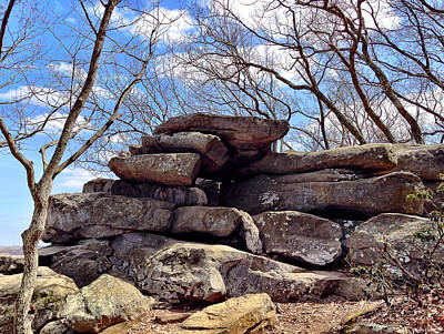 Photograph - Rocks State Park by Chris Montcalmo