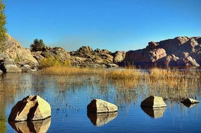 Rocks V.s. Cliffs Original by Thomas  Todd