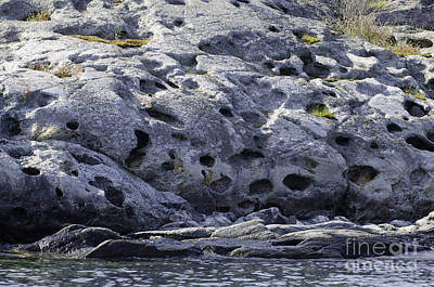 Photograph - Rocks With Holes by Les Palenik