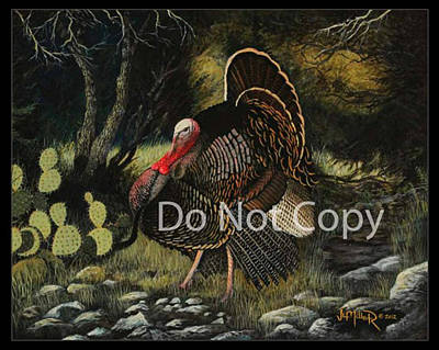 Upland Game Birds Painting - Rocksprings Rio by Jim E Miller