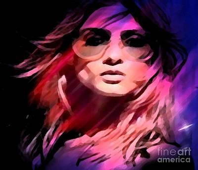 Painting - Rockstar by Catherine Lott