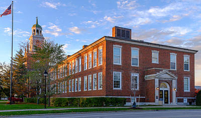 Rockwell Hall Southern View Art Print by Chris Bordeleau