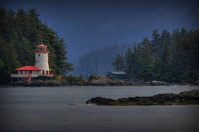 Rockwell Lighthouse Sitka Alaska Art Print