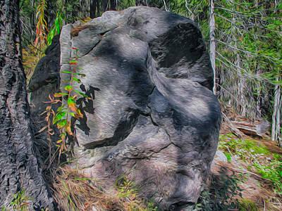 Painting - Rocky Ancestor by Omaste Witkowski