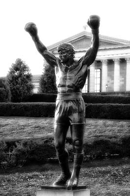 Philadelphia Champion - Rocky Photograph - Rocky Balboa by Bill Cannon