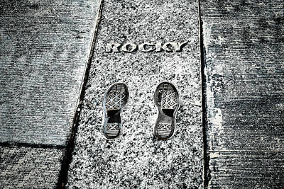 Photograph - Rocky Balboa Footsteps by Boris Mordukhayev