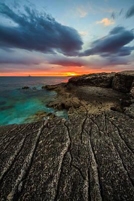 Rocky Beach Photograph - Rocky Beach by Davorin Mance