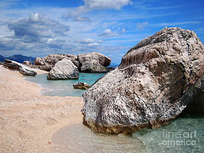 Photograph - Rocky Beach In Sardinia by IPics Photography