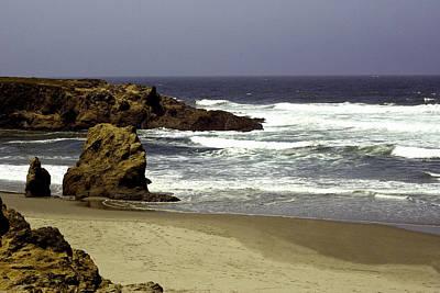 Photograph - Rocky Beach Mendocino by William Havle