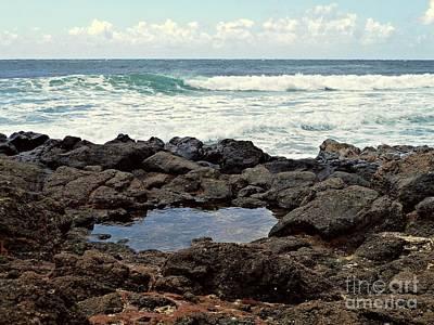 Photograph - Rocky Beach On Kauai 2 by Patricia Strand