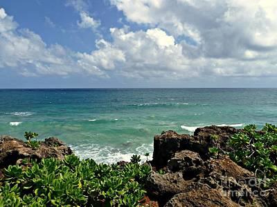 Photograph - Rocky Beach On Kauai by Patricia Strand