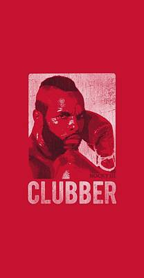 Boxer Digital Art - Rocky - Clubber Lang by Brand A