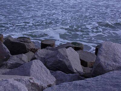 Photograph - Rocky Coast by Aaron El-Amin