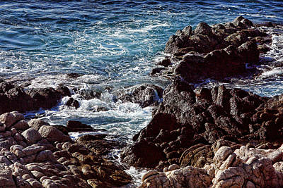 Rocky Coast Art Print by Linda Phelps